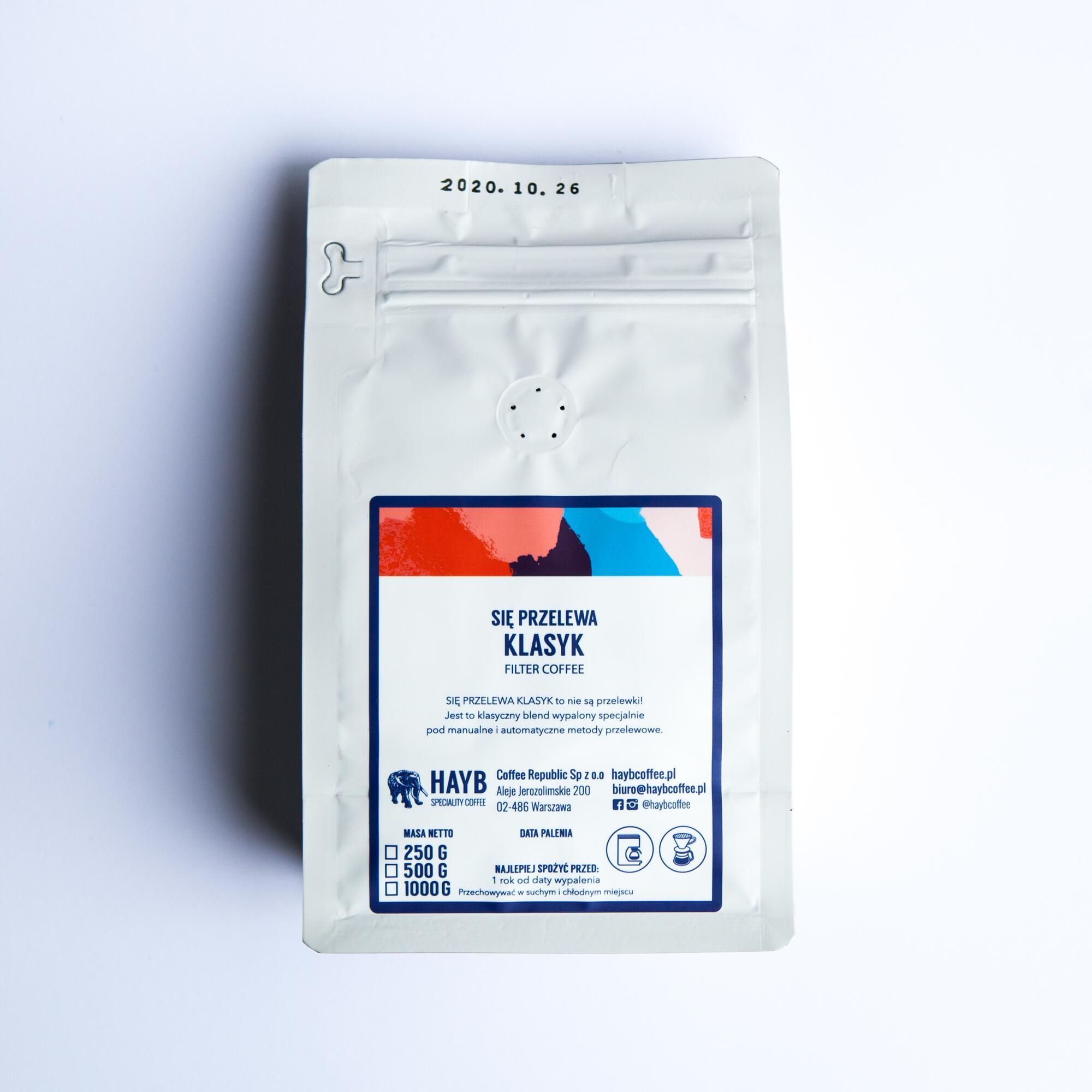 HAYB Się przelewa Klasyk 250g - Coffee Gang | JestemSlow.pl