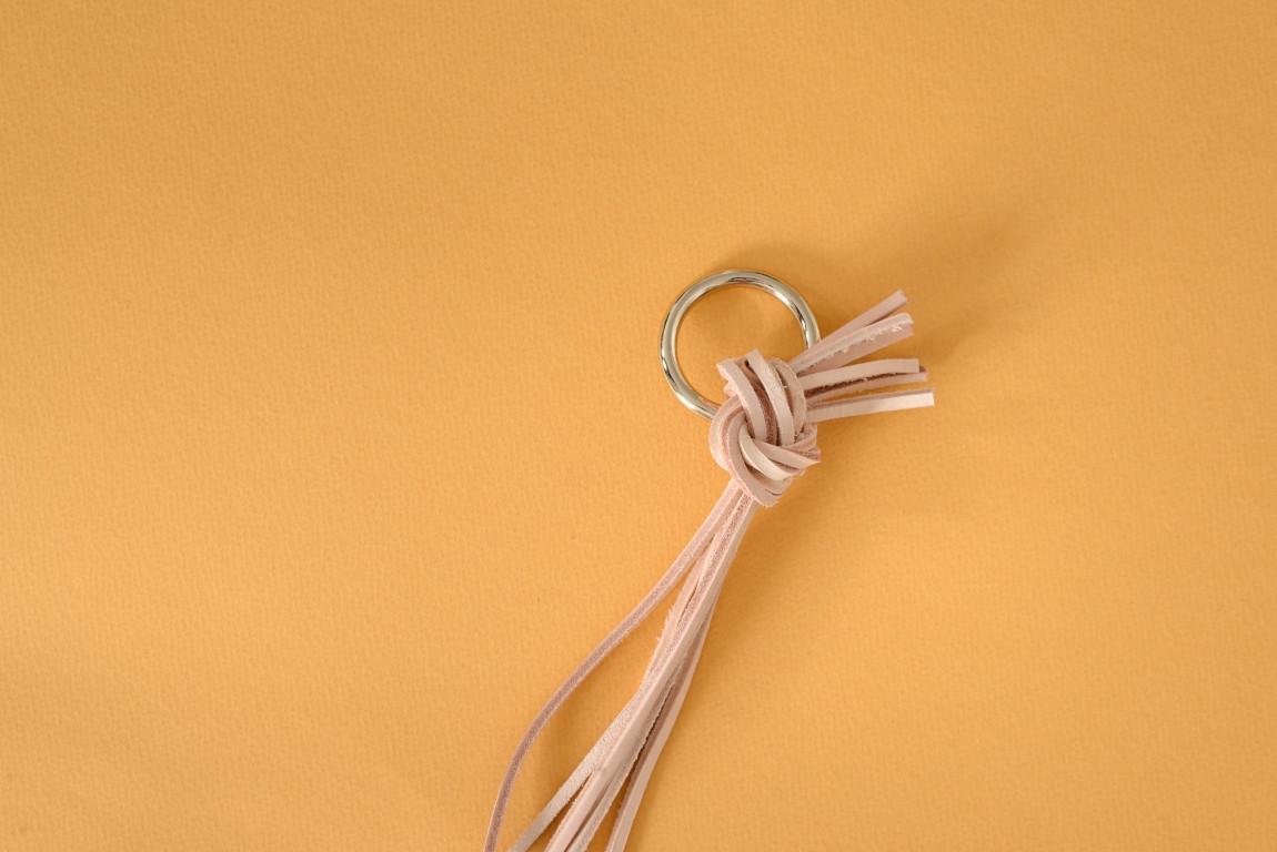 Skórzany kwietnik wiszący Lade #3 naturalny - Steil