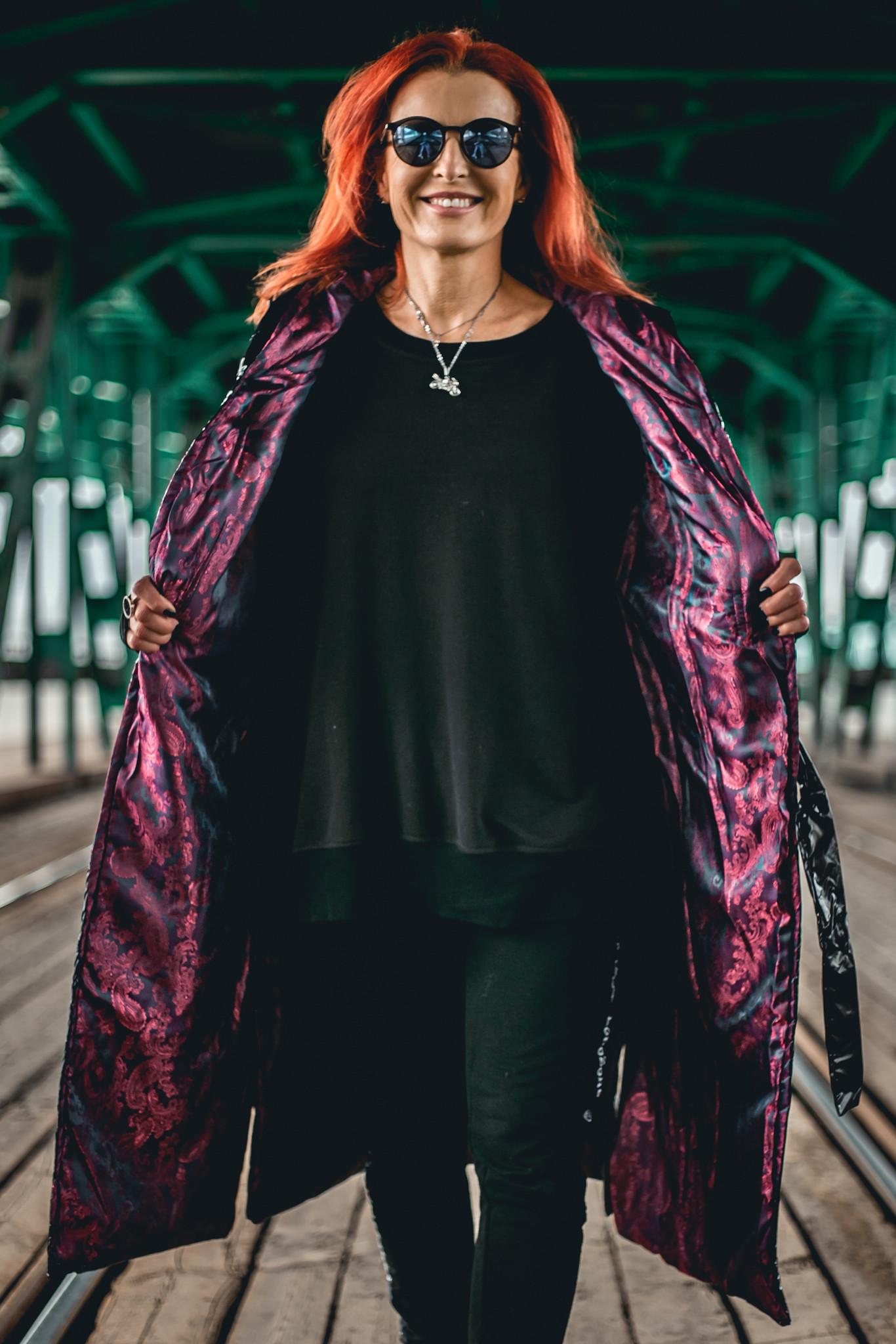 Black/Pink Vest - BohoZone   JestemSlow.pl