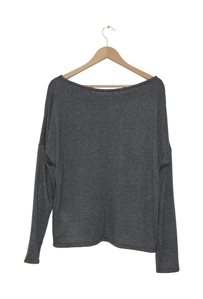 ZESTAW 2 swetry Pudełkowe Szare - The Same