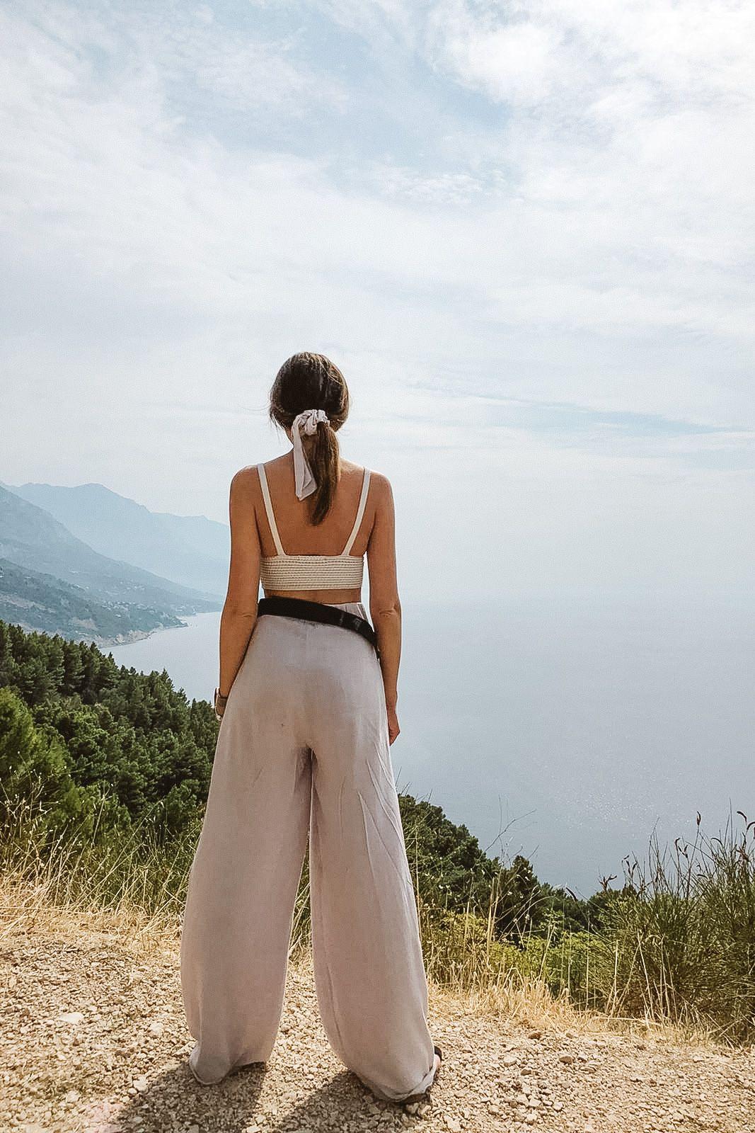 frotka CIELO z szarfą zero waste - breath.clothing