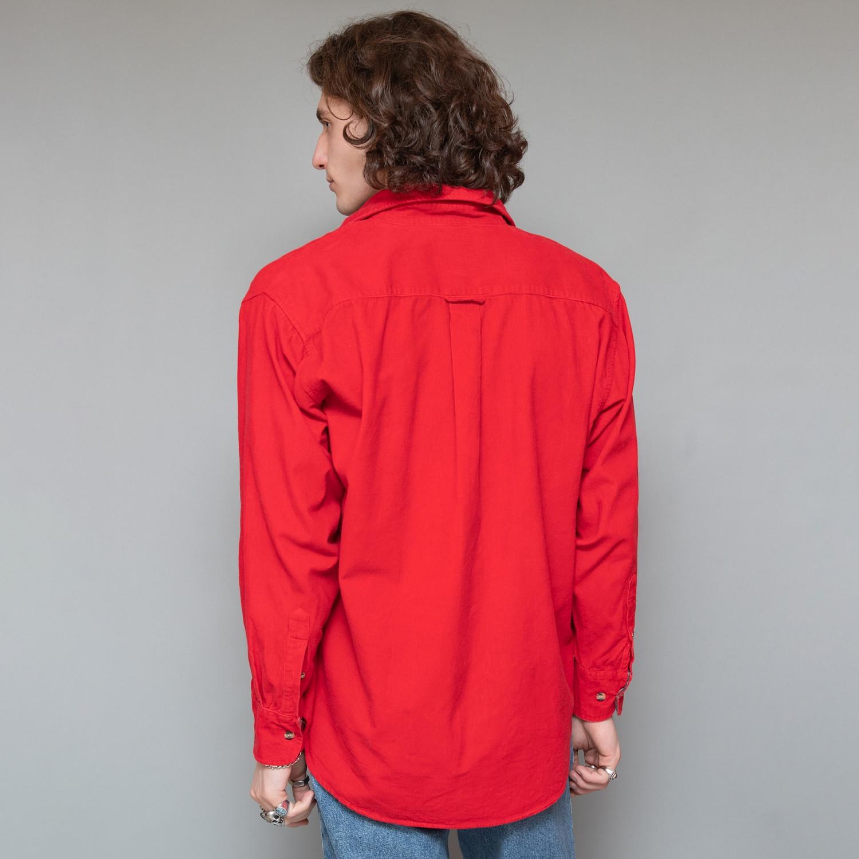 Czerwona koszula sztruksowa - KEX Vintage Store   JestemSlow.pl