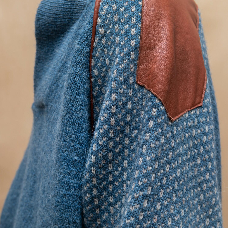 Norweski sweter z wełny - KEX Vintage Store   JestemSlow.pl