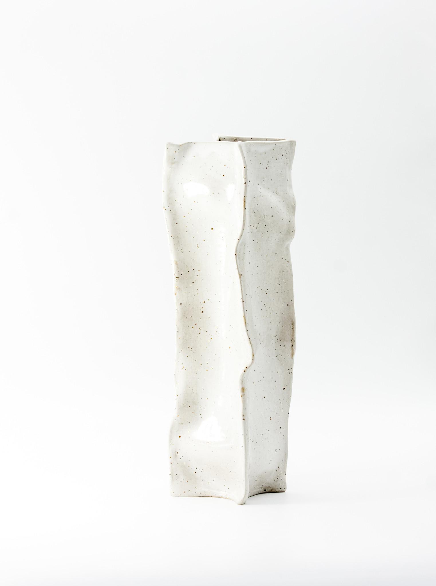 Zestaw wazonów PAPIEROWE TORBY / duże - Lui & Clay | JestemSlow.pl