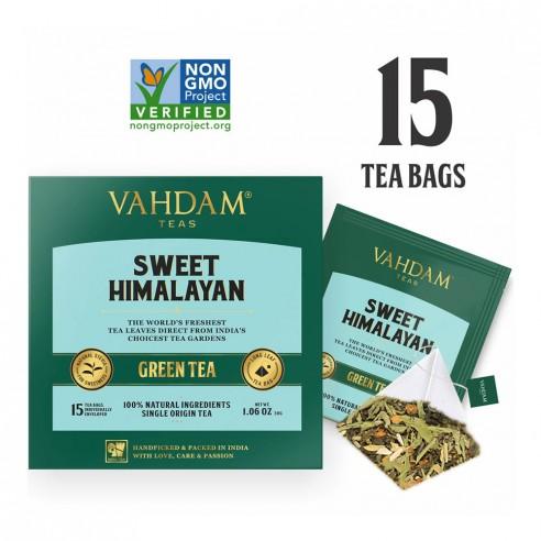 Sweet Himalayan Green Tea - Republika Smaków | JestemSlow.pl