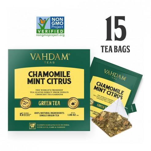 Chamomile Mint Citrus Green Tea - Republika Smaków Sp. z o.o. | JestemSlow.pl