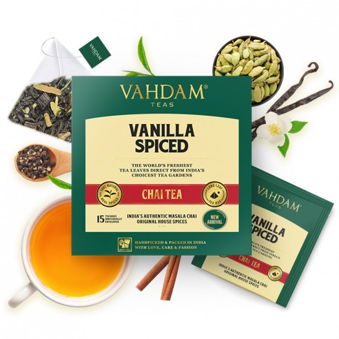 Vanilla Spiced Chai Tea - Republika Smaków | JestemSlow.pl