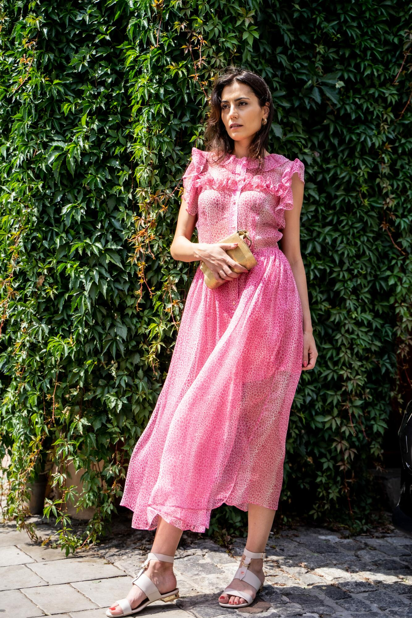 Sukienka jedwabna LAGUNA ROSA - kod rabatowy - SYLVIA DARA SYLWIA DYDA | JestemSlow.pl