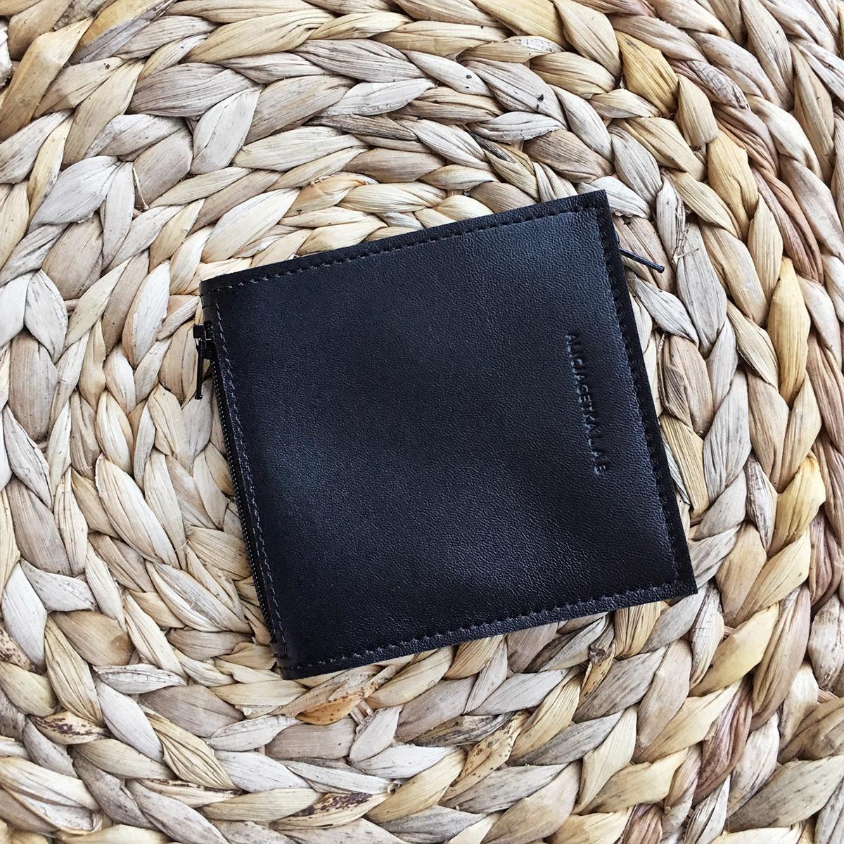 Portfel Pocket MIDI + plain Nero - Alicja Getka lab