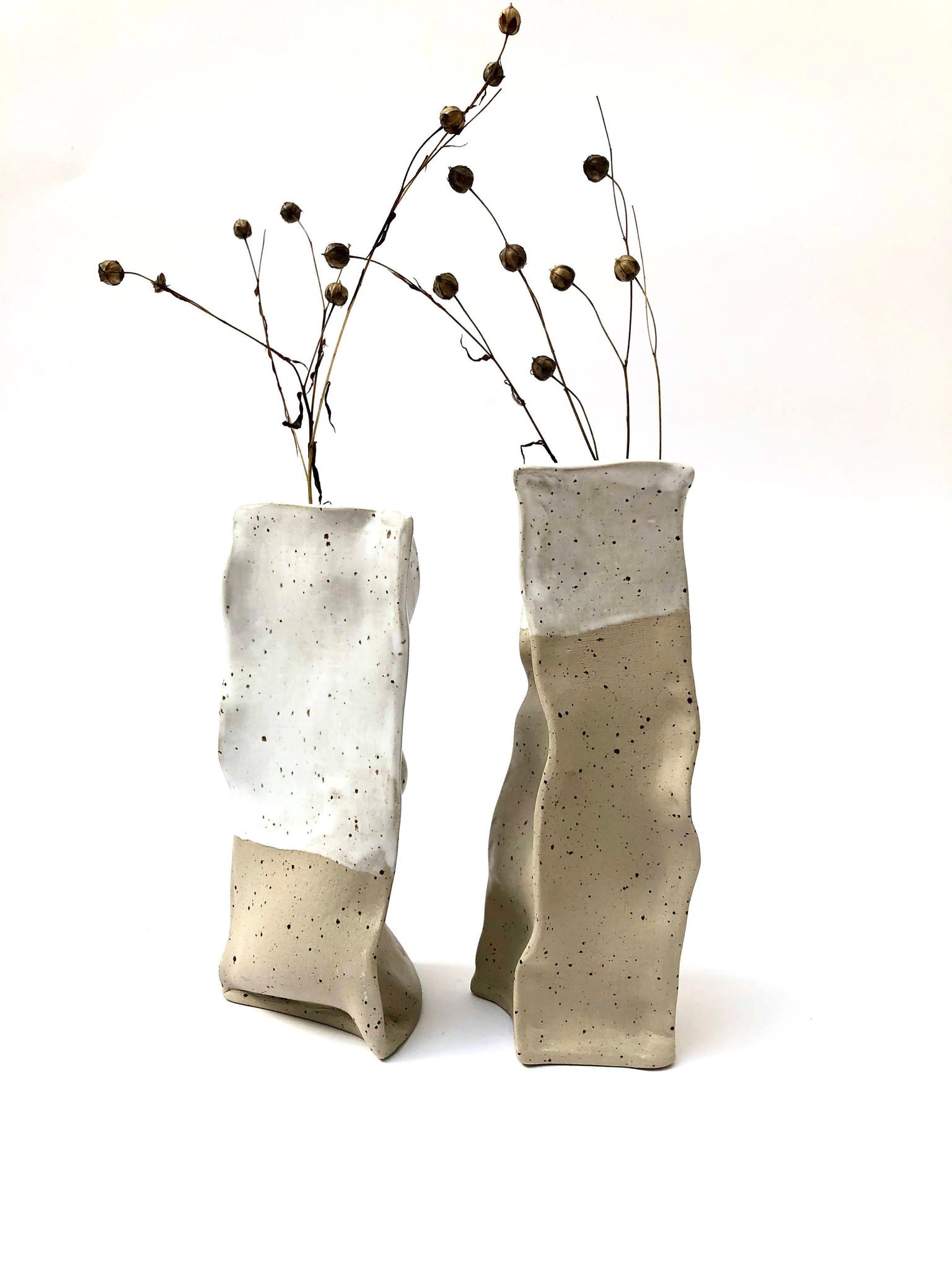 Komplet wazonów PAPIEROWE TORBY - Lui & Clay | JestemSlow.pl