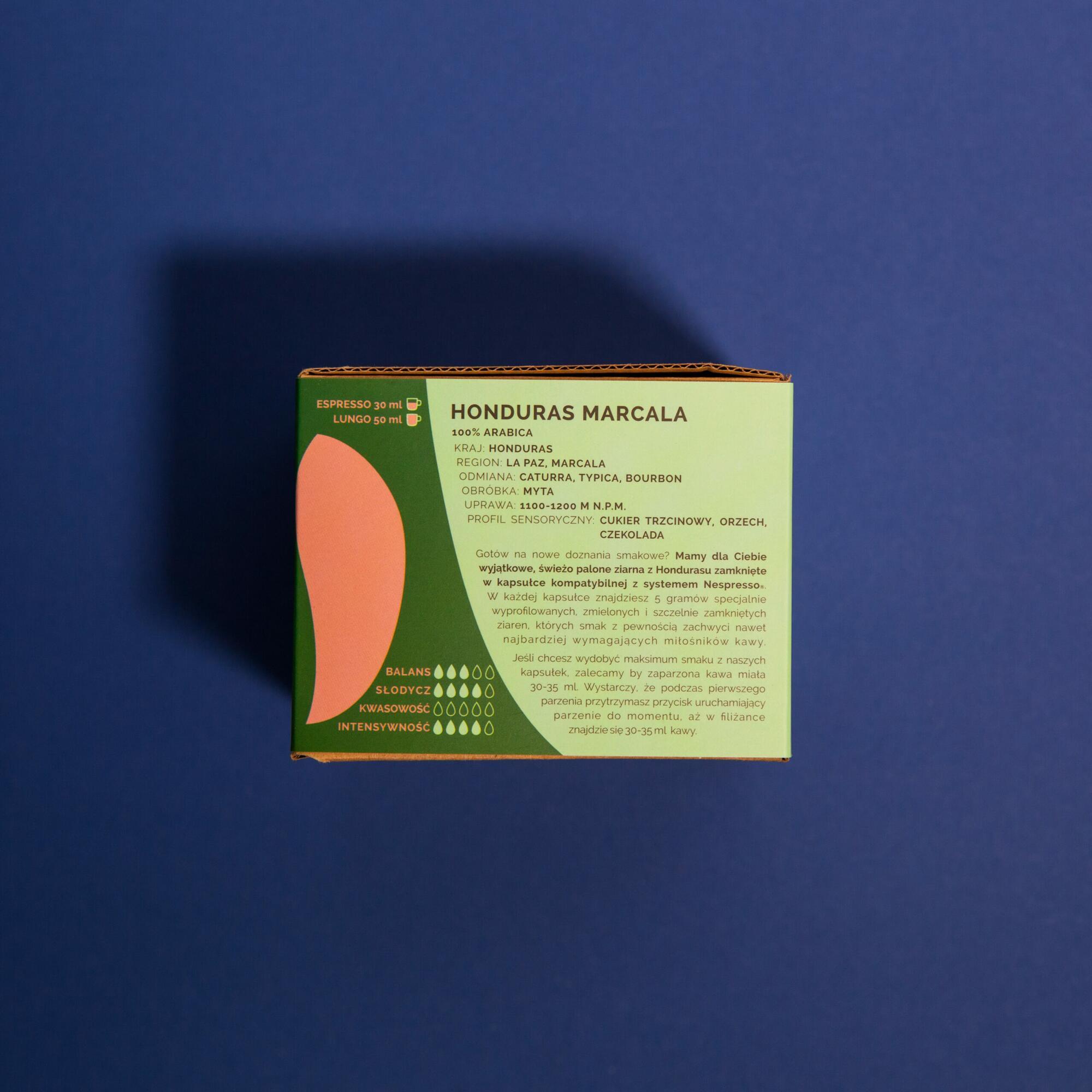 Coffee Plant Honduras Marcala 26 kapsułek - Coffee Gang   JestemSlow.pl
