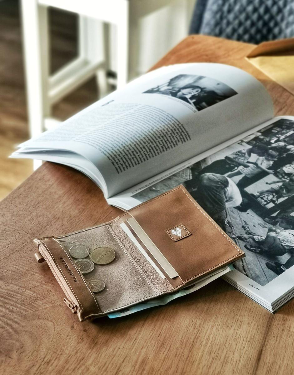 Portfel MINI + Caramel - Alicja Getka lab