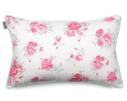 Poduszka dekoracyjna Roses Mint 40x60 cm - We Love Candles&We Love Beds   JestemSlow.pl