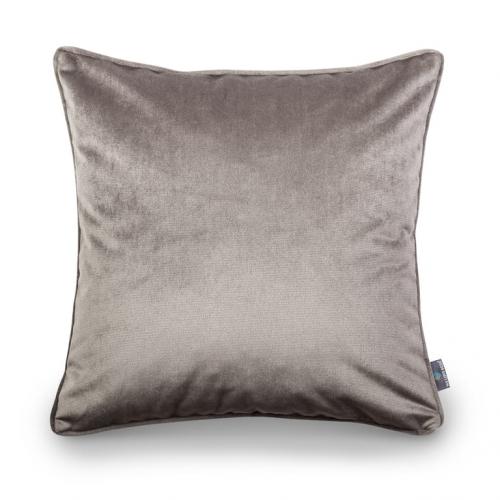 Poduszka dekoracyjna Grey Velvet 50x50 cm - We Love Candles&We Love Beds
