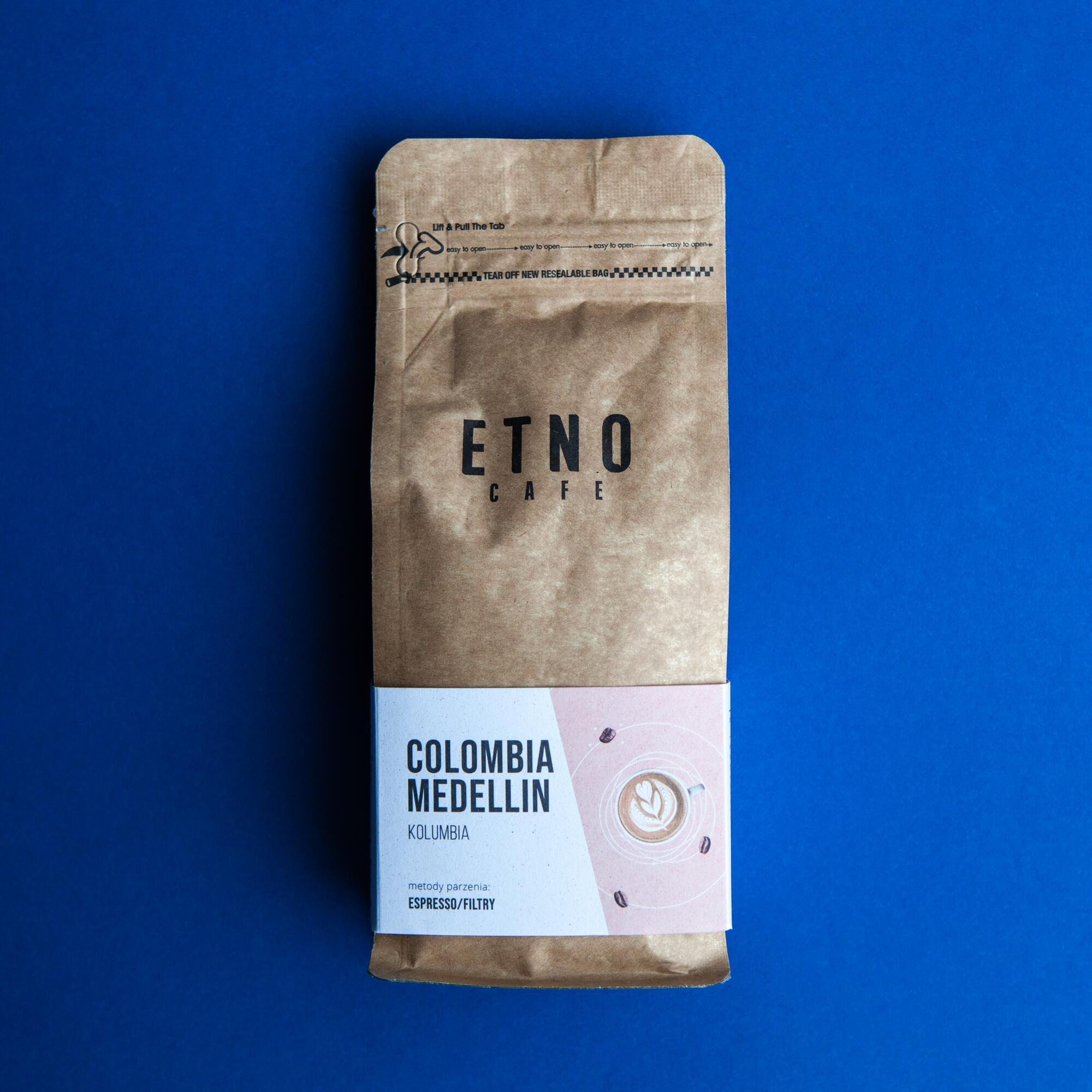 Etno cafe Colombia Medellin 250g - Coffee Gang | JestemSlow.pl