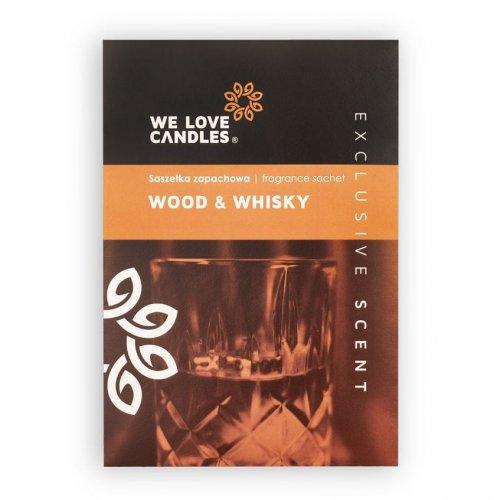 Saszetka zapachowa Wood & Whisky - We Love Candles&We Love Beds | JestemSlow.pl