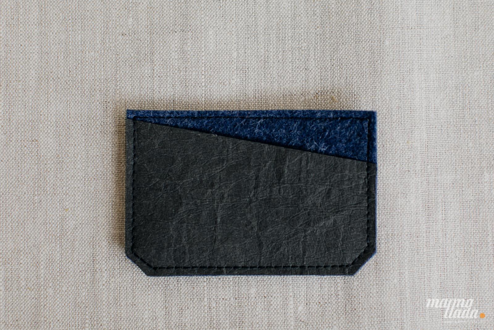 marmollada - etui filcowe NA KARTY z czarnymi dodatkami - Marmollada