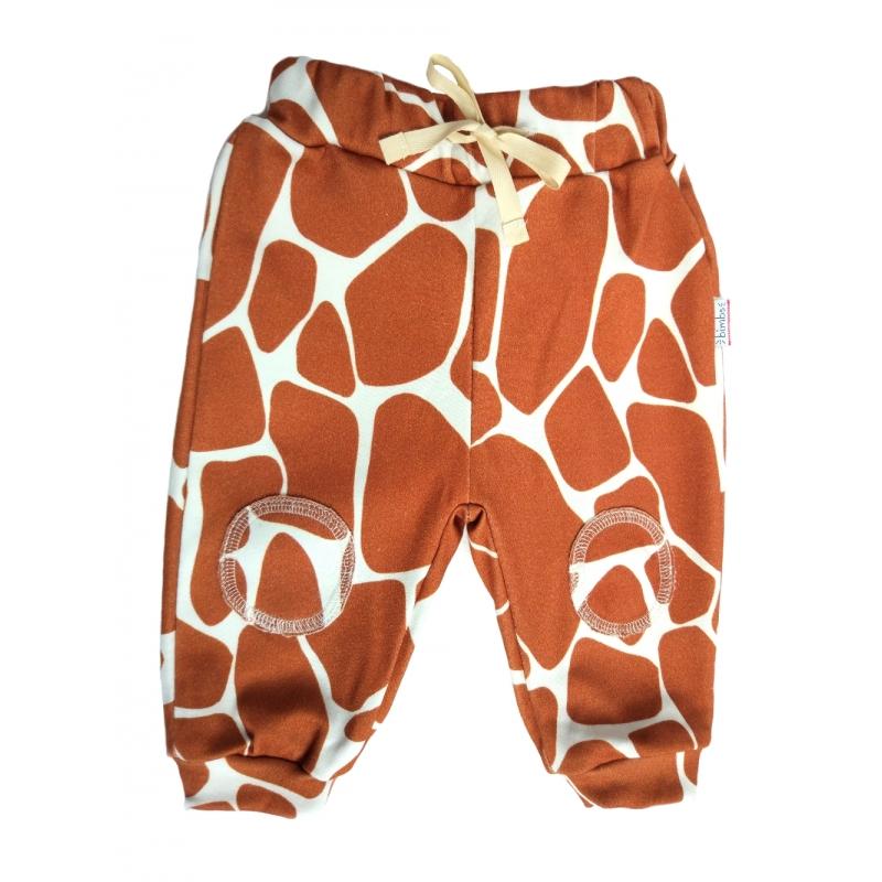 Spodenki Cotton Giraffe 56: szer. w pasie 16 cm, dł. 30 cm (0-2 m-ce) - BIMBS