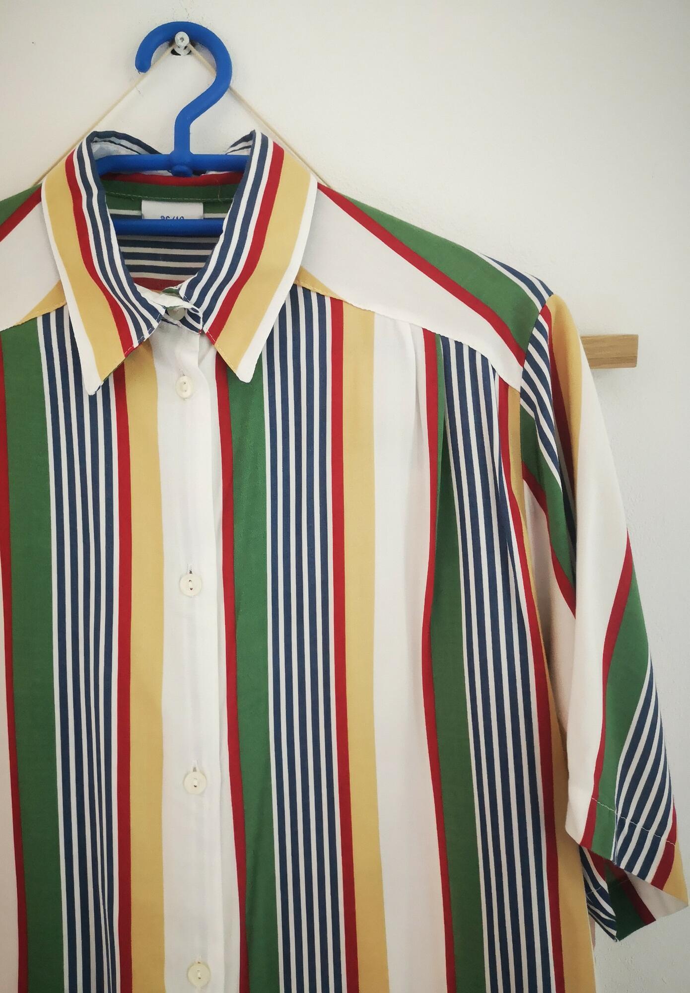 koszula vintage paski - Nie byle | JestemSlow.pl