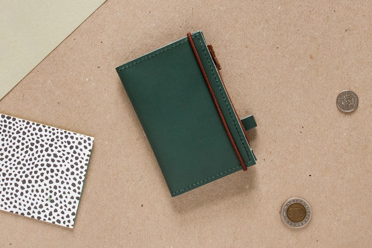 Portfel MIKRO Green - Alicja Getka lab