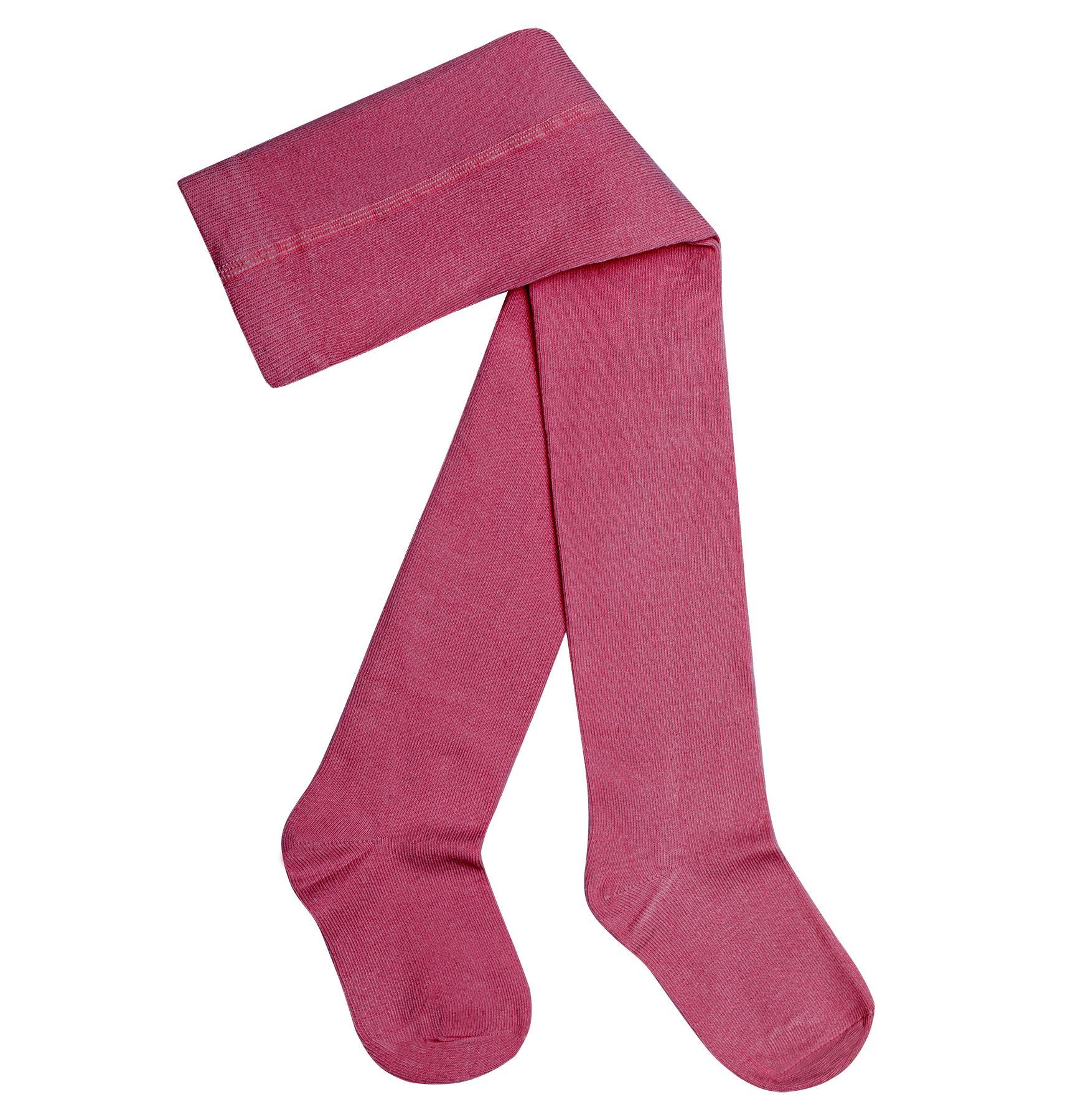 Rajstopy bawełniane różowe - FAVES. Socks&Friends