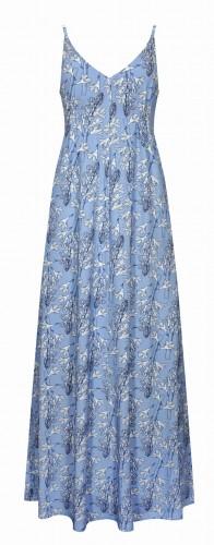 Sukienka MAXI - kwiat - TAS-KU