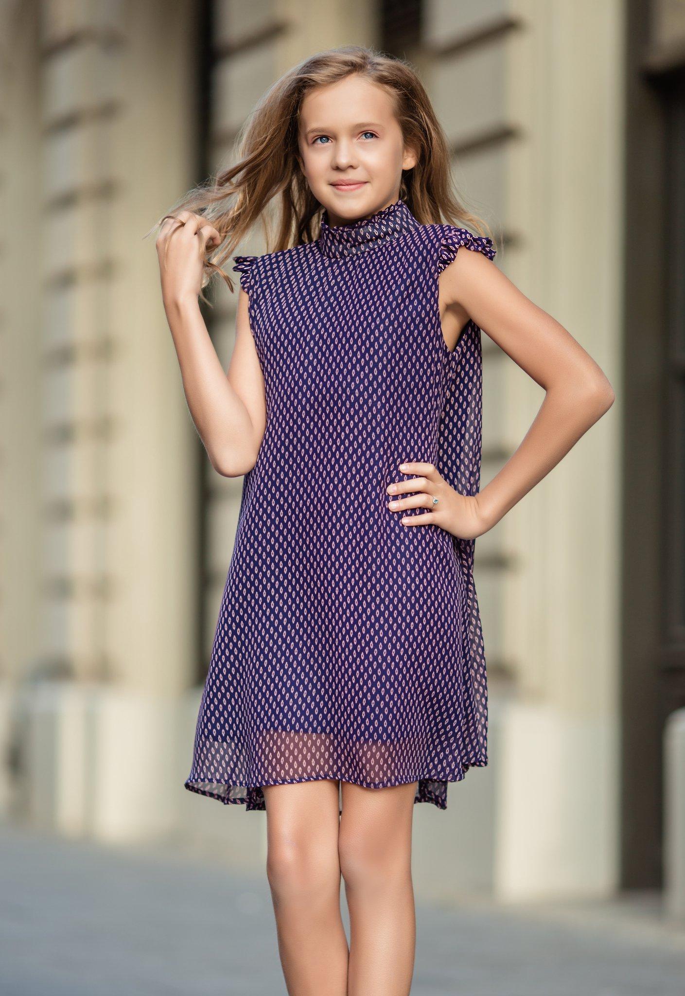Sukienka szyfonowa - Domino.little.dress