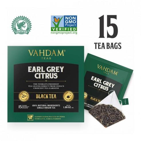 Earl Grey Citrus Black Tea - Republika Smaków Sp. z o.o. | JestemSlow.pl