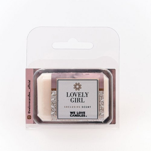 Wosk zapachowy Lovely Girl - We Love Candles&We Love Beds   JestemSlow.pl