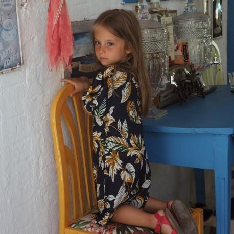 Sukienka w Kwiaty z bufkami - Mizerki Kids   JestemSlow.pl