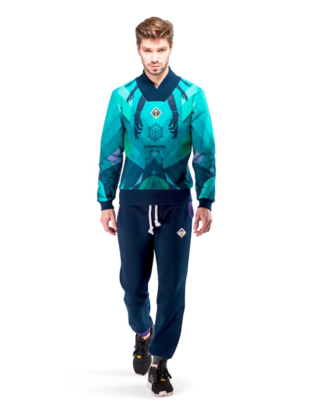 Uranus Cardigan (Turquoise) - Okuaku