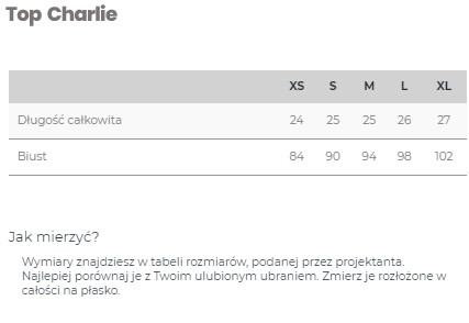 Top Charlie White - LILY ZEAL | JestemSlow.pl
