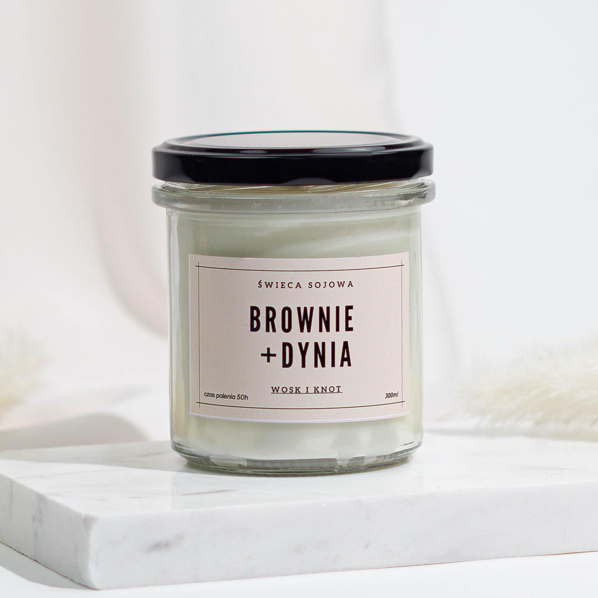 BROWNIE + DYNIA - Wosk i Knot | JestemSlow.pl