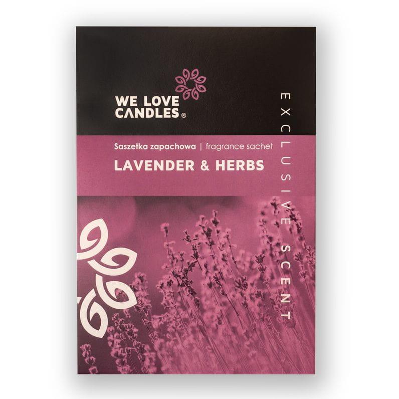 Saszetka zapachowa Lavender & Herbs - We Love Candles&We Love Beds