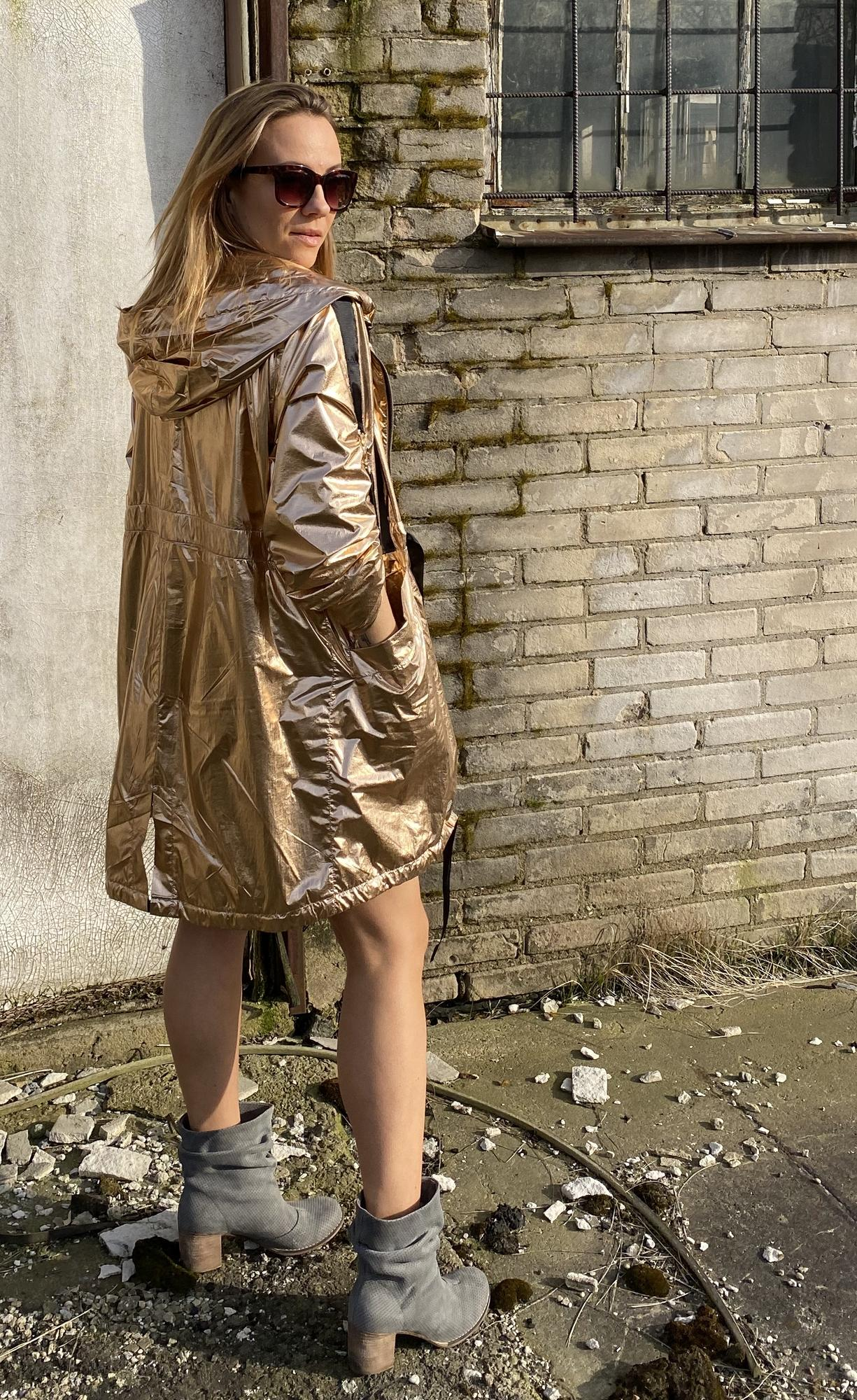 Parka  Rose  Gold   LIMITED EDITION - RUUDE