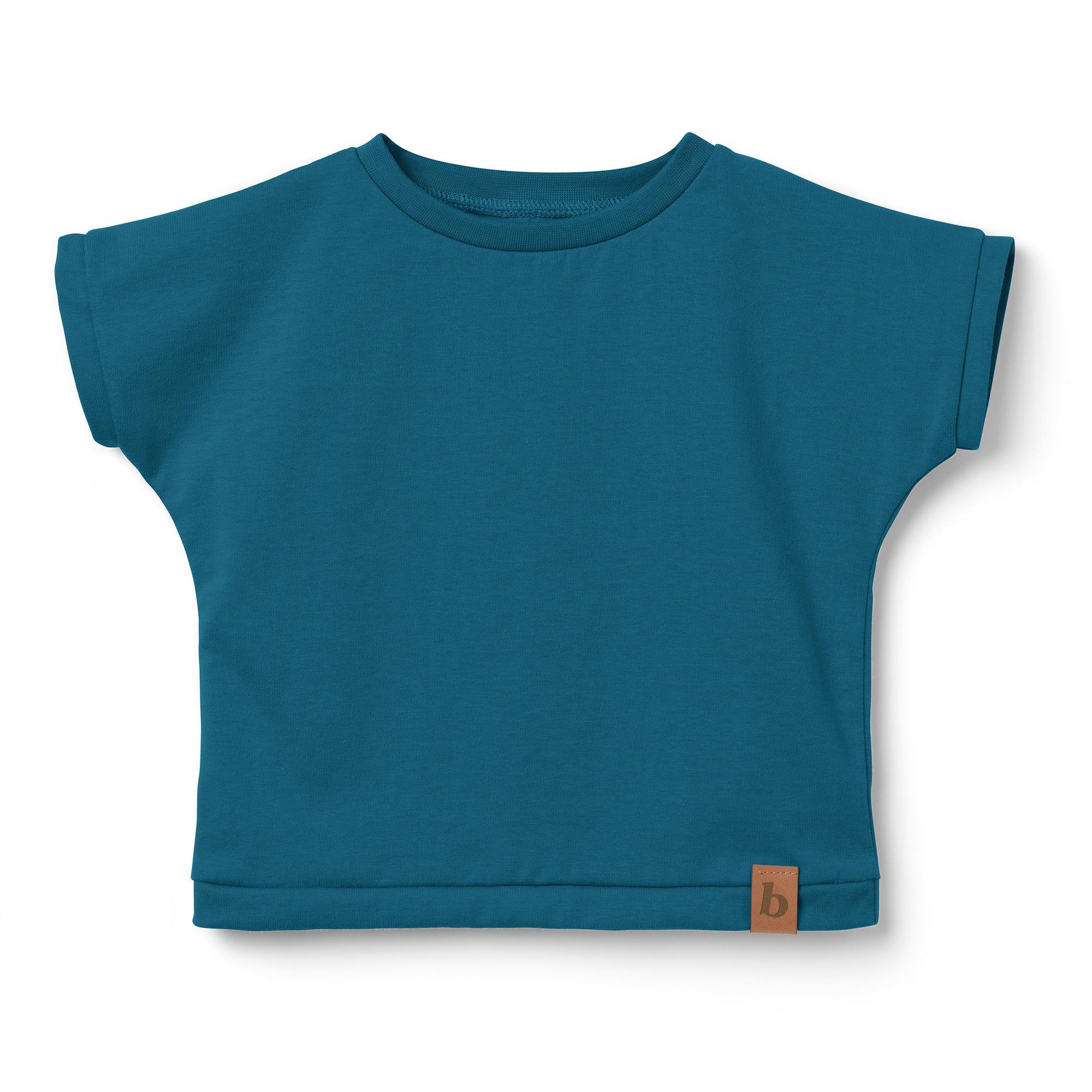 T-shirt dziecięcy, koszulka- morski granat - Bubalove