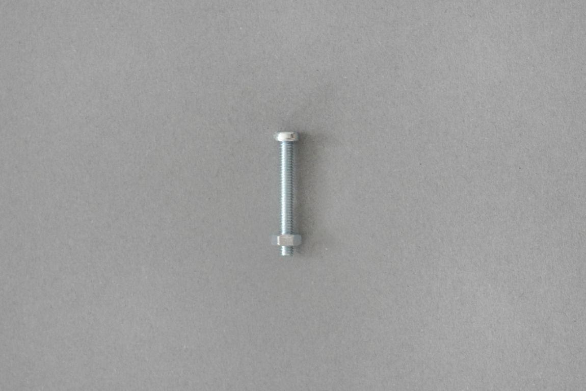 Skórzany uchwyt meblowy Lade Om #1 czarny 15 mm - Steil