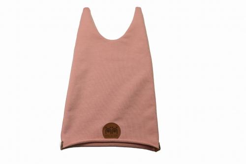 Czapka bawełniana 'Nisse' (Różowa) - Myśl od czapy