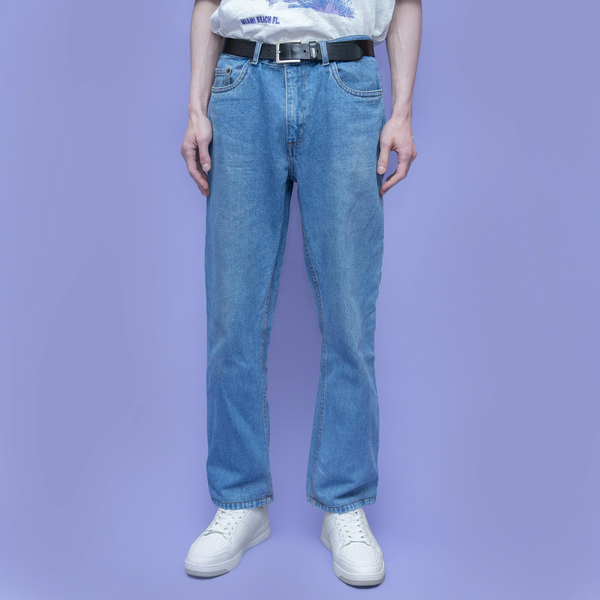 Jasnoniebieskie męskie jeansy - KEX Vintage Store | JestemSlow.pl