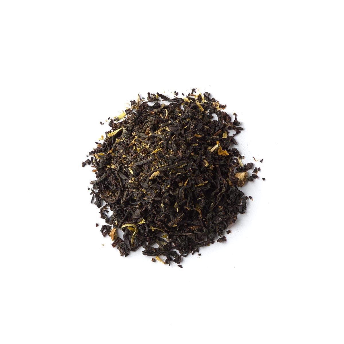 Fede. Blend czarnej herbaty earl grey z płatkami nagietka - Brown House & Tea | JestemSlow.pl
