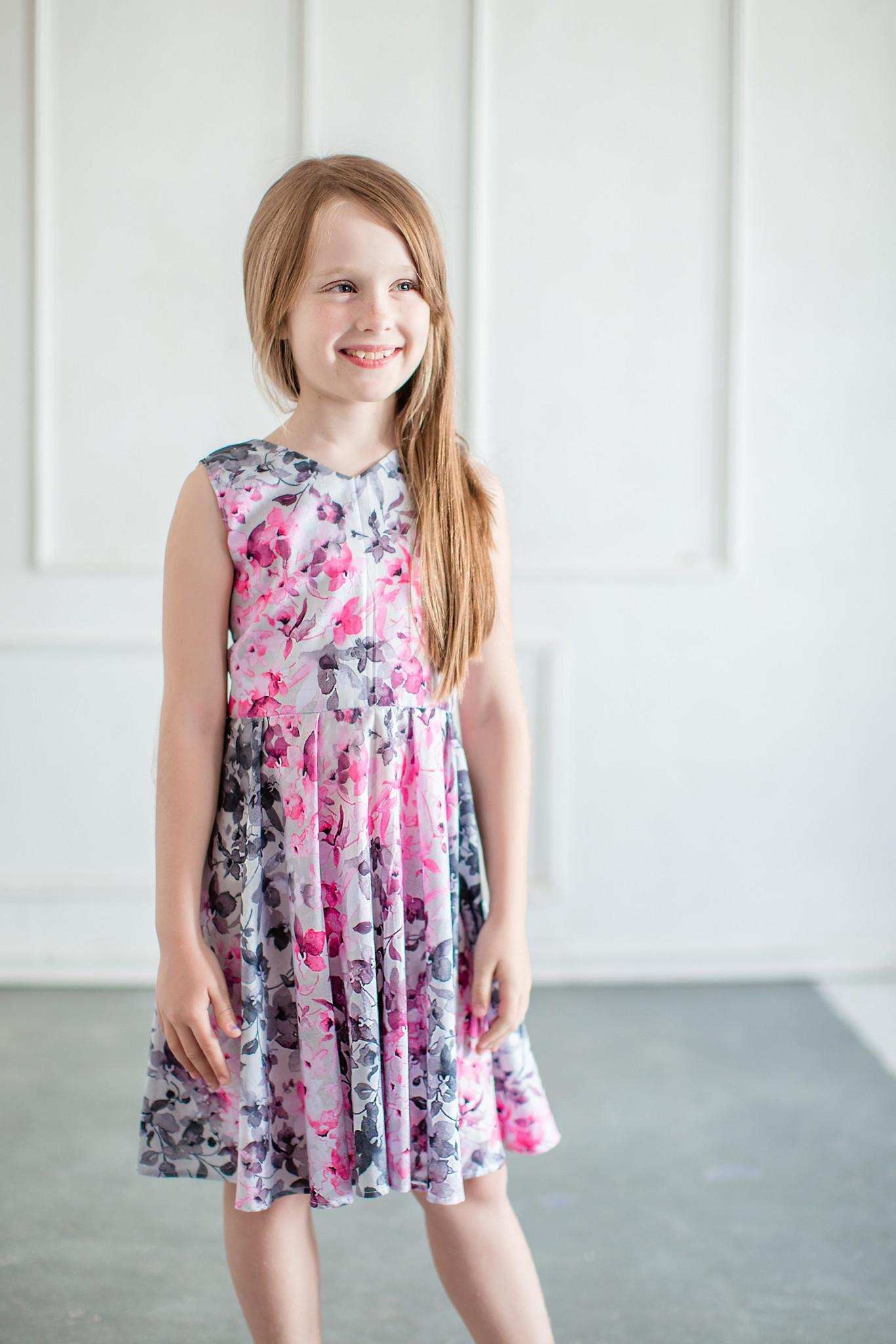 Sukienka Magnolia - Domino.little.dress