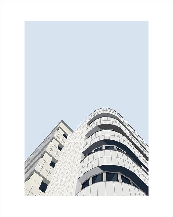 Kaśka - plakat Modernistyczna Gdynia - KABAK