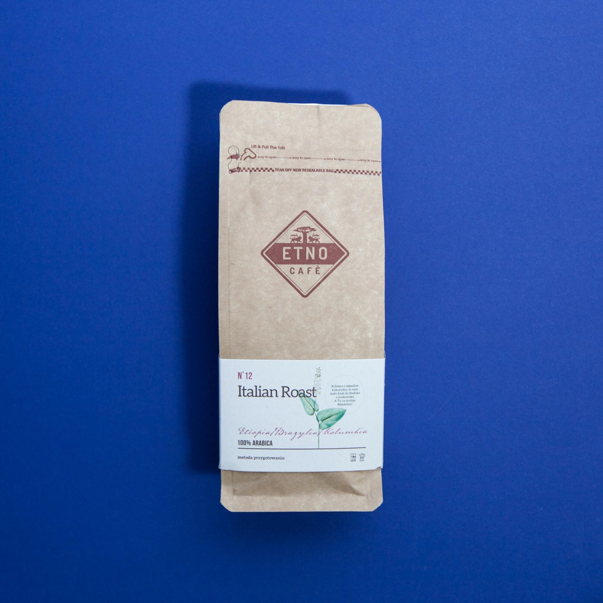 Etno cafe Italian Roast 250g - Coffee Gang | JestemSlow.pl