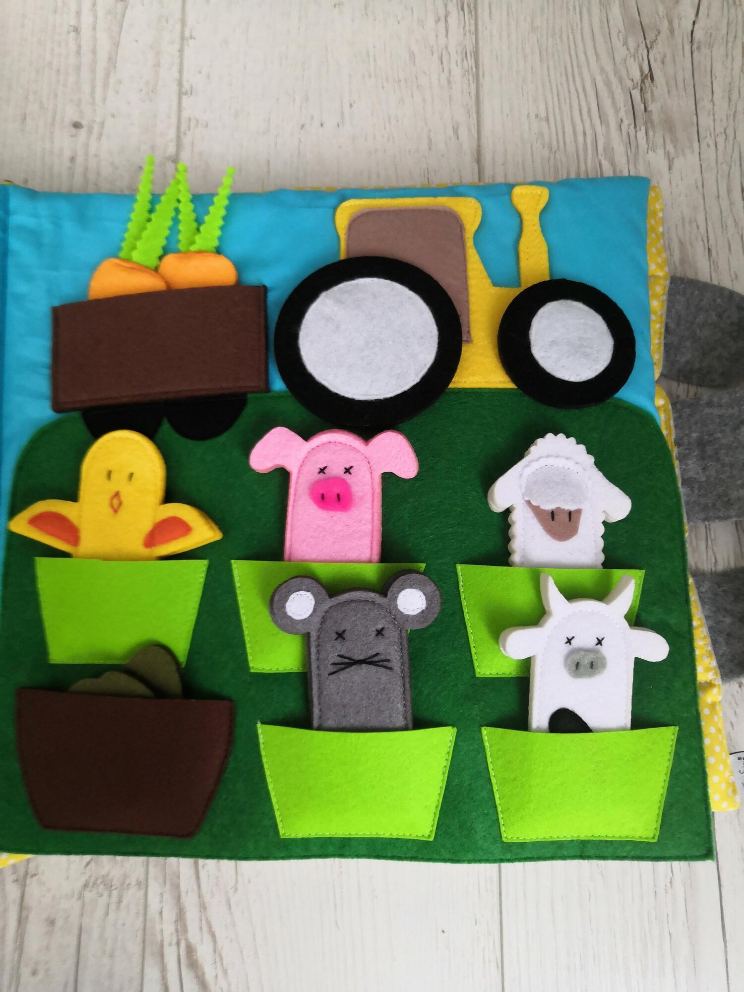 Książeczka sensoryczna 1+ dla dzieci w wieku 1-3lat - TimoSimo | JestemSlow.pl